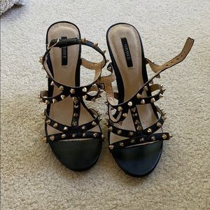 Spiked Forever 21 Heels, Size 6.5